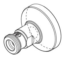 12/15 mm Wallfix ligeløbende 2stk.
