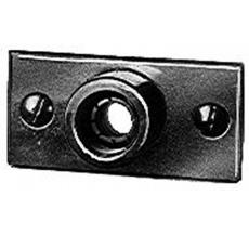 "1/2"" x 15 mm Mora dækplade, krom"