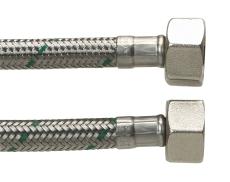 """Tilslutningsslange DN8 1/2"""" x 1/2"""" 300 mm"""