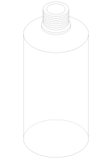Damixa Reperationssæt plastikflaske 500 ml dispenser
