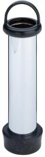 """Afløb til bad og brusekar standrør 1.1/2"""" x 225 mm forkromet"""