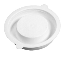 Universal plastprop/slutmuffe til 110/75/50 mm