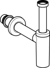 "Pungvandlås 1.1/2"" x 40 mm hvid"