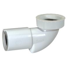 "Purus PUM bundventil-vinkel 40 mm X 1.1/2"" med lugtspærre"
