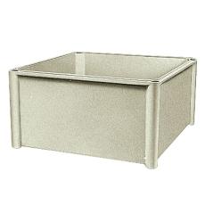 Thalassa PLS Kassebund Poly 270 x 270 x 135 mm, grå