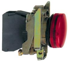 LAMPE  XB4BVM4 230-240VAC  RØD