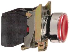 LAMPETR.XB4BW34B5 24VAC/DC RØD