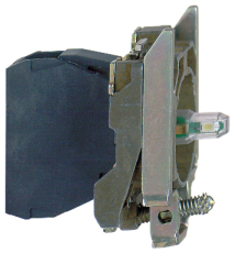 LAMPEKROP GRØN LED 24V AC/DC