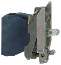 Lampekrop grøn LED 240V ZB4BVM3