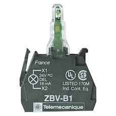 Lampekrop LED 24V AC/DC Rød ZBVB4