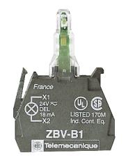 Lampekrop grøn 230V ZBVM3