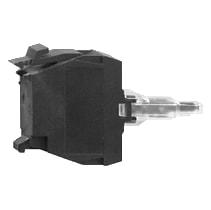 Blok Med Integreret LED Hvid 230-240V ZALM1