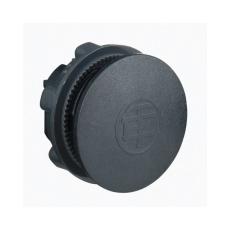 Blindprop til Ø22 mm, sort, plast (10 stk) ZB5BZ3