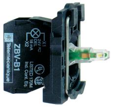 LAMPEKROP GRØN LED 240VAC K