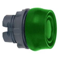 Trykknap Med Siliconekappe Grøn For XALD. ZB5AP3S