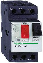 Håndbetjent motorværn GV2ME06 1,0-1,60A