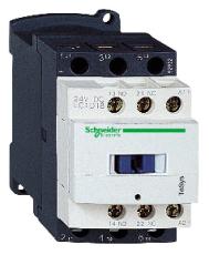 Kontaktor LC1D18B7 18A 3-polet + 1 slutte + 1 bryde 24V AC