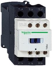 Kontaktor LC1D25V7 25A 3-polet + 1 slutte + 1 bryde 400V