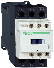 Kontaktor LC1D32B7 32A 3P+1SL+1BR 24V AC