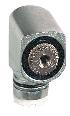 Endestophoved metal retur højre+venstre u/arm ZCE01