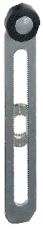 Endestoparm metal variabel med rulle ZCY45