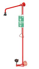 Vægmonteret kombinationsbruser med push arm