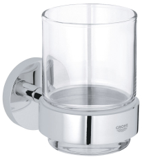 GROHE ESSENTIALS GLAS MED HOLD