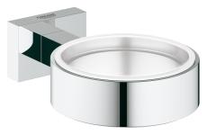 Essentials Cube holder glass/sæbe