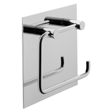 Børma A10 toiletrulleholder krom med bagplade