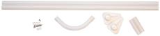 Hvid Forhængstang 90X90