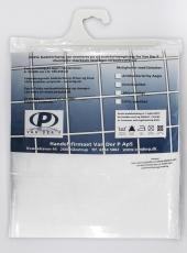 Forhæng Unicolor Miljø B:90 x H:200cm Hvid 6kovser Uden bly/