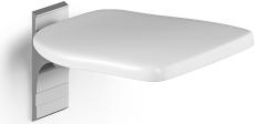 Pressalit Plus klapsæde, til fastmontering, antracitgrå