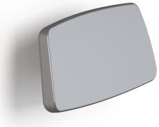 Pressalit Plus ryglæn, 300 mm, fastmonteret, hvid