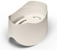 Sæbeholder til Pressalit Plus håndgreb, hvid