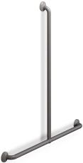 Pressalit Plus håndgreb/brusestang, 1000 x 1090 mm, antracit
