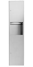 Intra Juvel Sanitet Easy 9467 kombi papir/affald indbygning