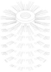 Damixa reperationssæt klosetbørstehoved ny udgave