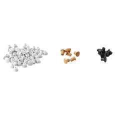 Ifö Sense dækpropper 5 mm til højskab/overskab/spejlskab