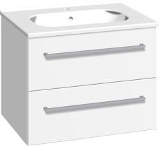 Dansani Luna Møbelsæt 48x61x45 cm m/Kantate vask Hvid mat.