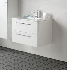 Dansani Luna Møbelsæt 48x81x45 cm m/Kantate vask Hvid hgl.