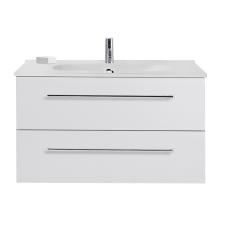 Dansani Luna Møbelsæt 48x101x45 cm m/Kantate vask Hvid mat.