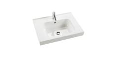 Dansani Luna Møbelsæt 48x61x45 cm m/Menuet vask Hvid mat.LED