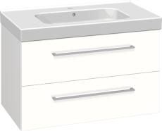 Dansani Luna Møbelsæt 48x81x45 cm m/Menuet vask hvid hgl.LED