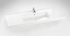 Dansani Luna Møbelsæt 48x121x45 cm m/Menuet vask hvid hgl.LE