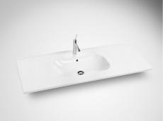 Dansani Luna Møbelsæt 48x121x45 cm m/Kantate vask Hvid mat.L
