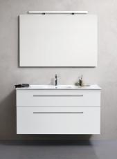 Dansani Luna Møbelsæt 64x121x45 cm m/Kantate vask Hvid mat