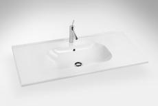Dansani Luna Møbelsæt 64x101x45 cm m/Kantate vask Lava LED
