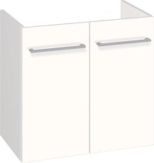 Johansen møbel 60x57,6x35 cm m/låger hvid højglans - uden va
