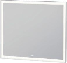 L-Cube spejl med LED lys 800x700mm, dimmerfunktion