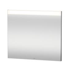 Spejl med LED lysfelt øverst 80x70cm til ekstern kontakt